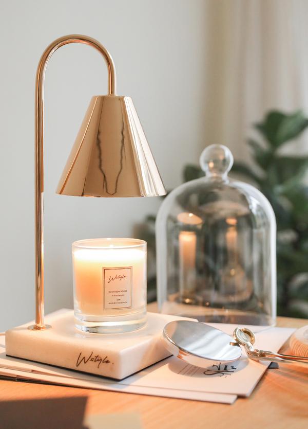 香氛蠟燭 小蒼蘭與雪松